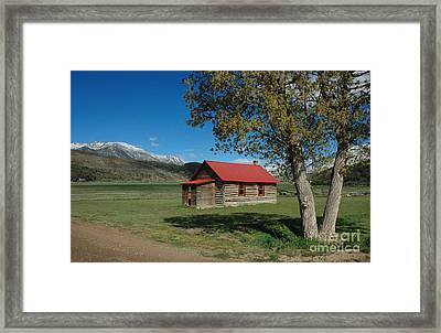 High Lonesome Ranch Framed Print by Jerry McElroy
