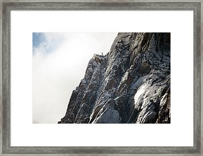 High Lookout Framed Print