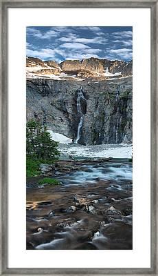 High Mountain Beauty Framed Print by Leland D Howard