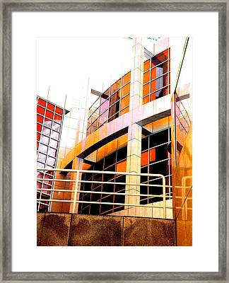 Framed Print featuring the photograph High Museum Of Art by Cleaster Cotton