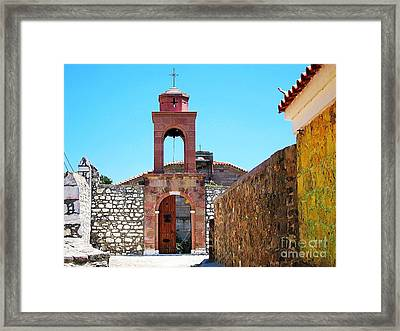 Framed Print featuring the photograph High Noon by Andreas Thust
