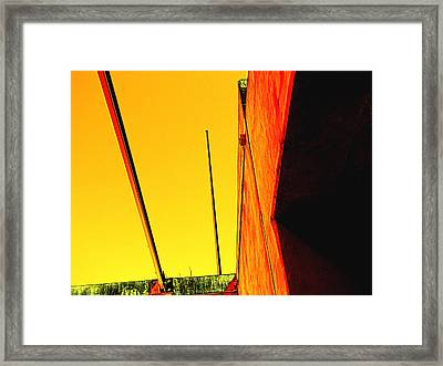 High Noon Framed Print by Wendy J St Christopher
