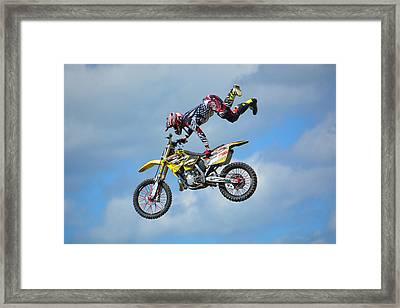 High Octane Ride Framed Print