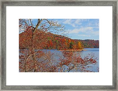 High On The Mountain Framed Print by HH Photography of Florida