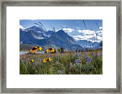 High Plains Framed Print