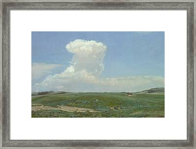 High Plains Big Sky Framed Print by Terry Guyer