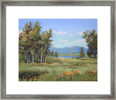 High Plains Idaho Framed Print