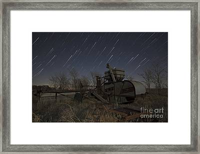 High Plains Thrasher Framed Print by Keith Kapple