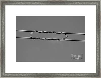 Framed Print featuring the photograph High Power Lines - 8 by Kenny Glotfelty