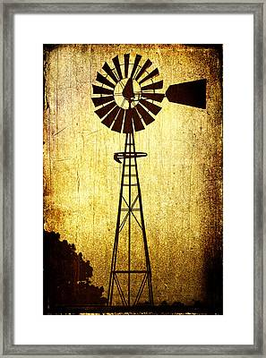 High Prairie Sentinel Framed Print