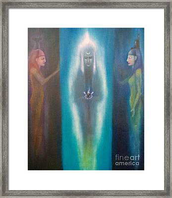 High Priestess Framed Print