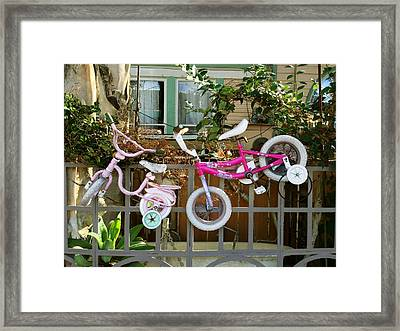 High Riders Framed Print