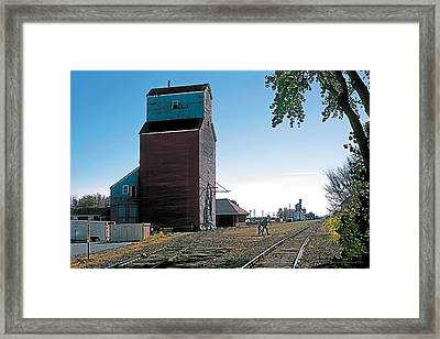 High River Framed Print by Terry Reynoldson