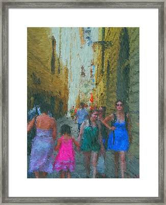 High Season Framed Print