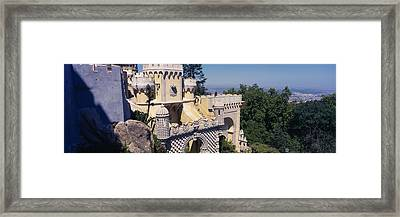 High Section View Of A Building, Pena Framed Print