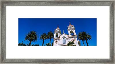 High Section View Of A Cathedral Framed Print by Panoramic Images