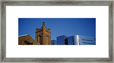 High Section View Of Buildings Framed Print by Panoramic Images