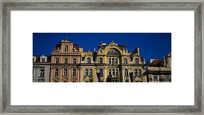 High Section View Of Buildings, Prague Framed Print by Panoramic Images