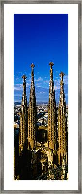 High Section View Of Towers Of A Framed Print