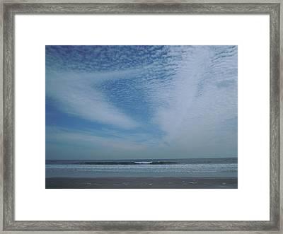 High Sky Framed Print