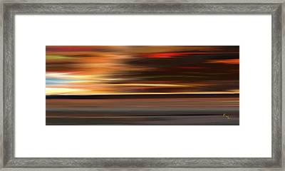 High Speed 3 Framed Print