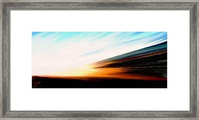 High Speed 6 Framed Print