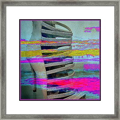 High Stepping Framed Print
