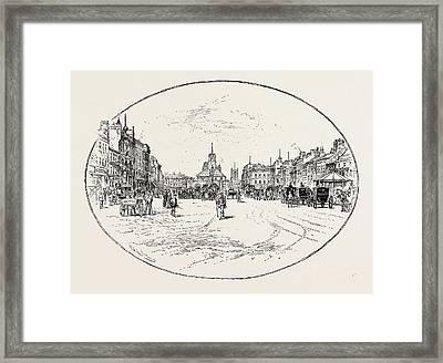 High Street, Stockton Framed Print by English School