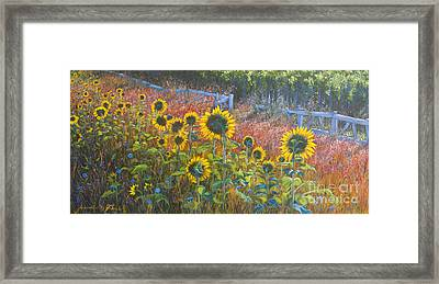 High Summer Framed Print by Jeanette French
