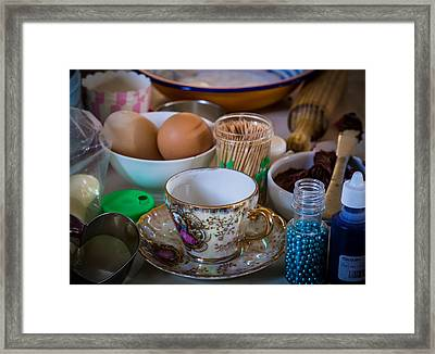 High Tea's Provenance Series Number Two Framed Print by Kaleidoscopik Photography