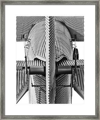 High-tech Circa 1929 Framed Print