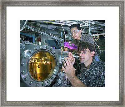 High-temperature Superconductivity Framed Print