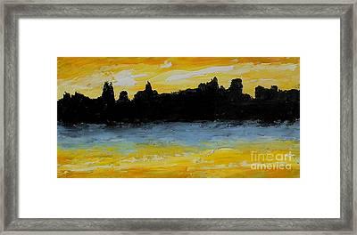High Tide Framed Print by Fred Wilson