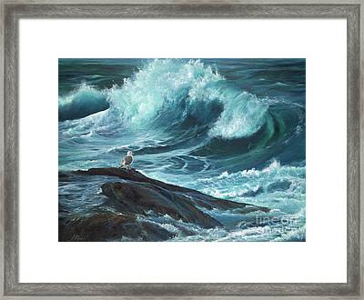 High Tide Framed Print by Jeanette French