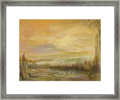 High Tide Framed Print by Julianne Felton