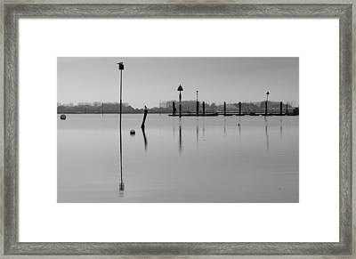 High Tide Ripples Framed Print