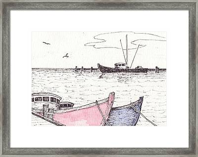 High Tide Framed Print by Robert Parsons