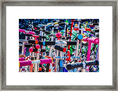 High Time To Buy A Scooter 1 Horizontal Framed Print by Alexander Senin