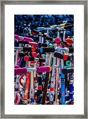 High Time To Buy A Scooter 1 Vertical Framed Print