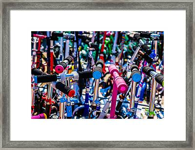 High Time To Buy A Scooter 2 Horizontal Framed Print by Alexander Senin