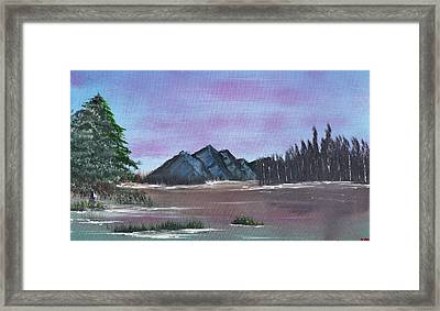 Flooded Framed Print by Jennifer Muller
