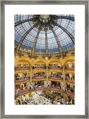 High View Of The Domed Central Area Of Framed Print by Ian Cumming