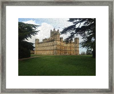 Highclere Castle Downton Abbey 2 Framed Print
