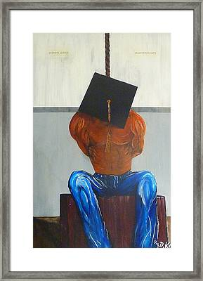 Higher Education Framed Print by Douglas Keen