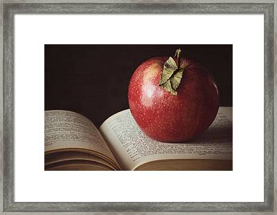 Higher Learning Framed Print
