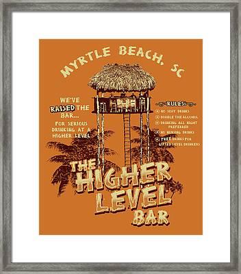 Higher Level Framed Print by Jim Baldwin