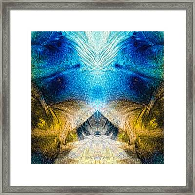 Higher Love Art By Sharon Cummings Framed Print by Sharon Cummings