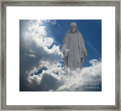 Framed Print featuring the photograph Higher Power by Raymond Earley