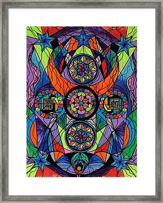 Higher Purpose Framed Print