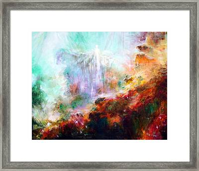 Higher Self Framed Print